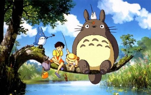 Min granne Totoro från Studio Ghibli.