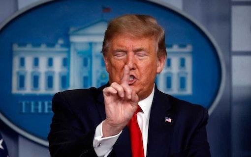 Kommer ny serie om Vita Huset sänka Trump?