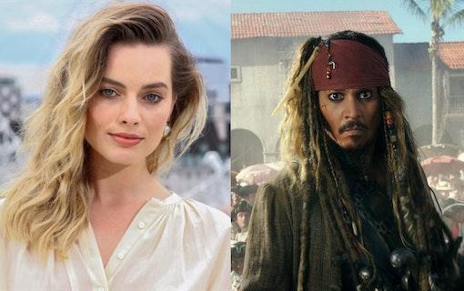 Margot Robbie i nya Pirates of the Caribbean