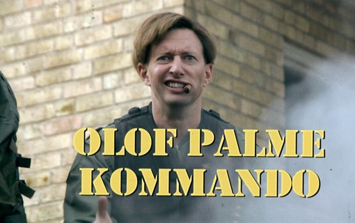 Olof Palme Kommando –splatterfilm om statsministern