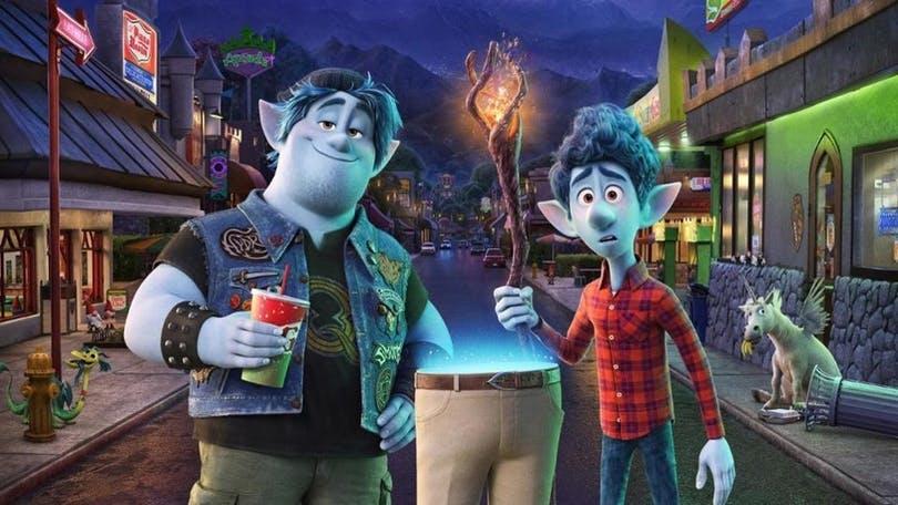 """Stillbild ur Pixarfilmen """"Framåt""""."""