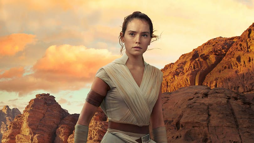 "Daisy Ridley i ""Star Wars: The Rise of Skywalker""."