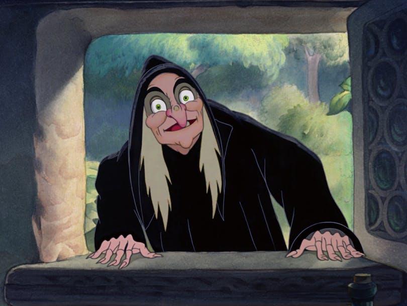 Ursula i Den lilla sjöjungfrun.