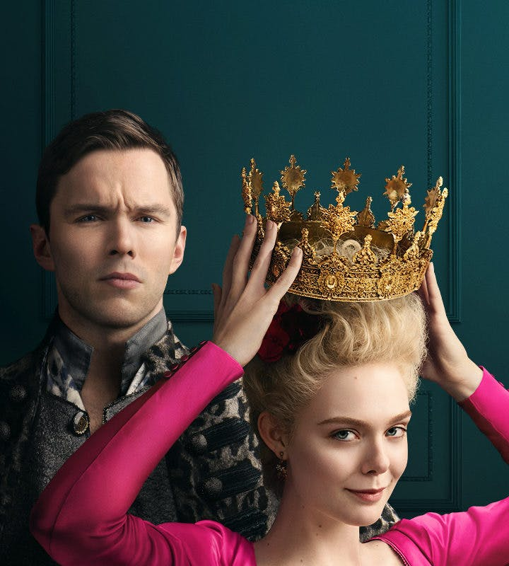 Elle Fanning i The Great på HBO