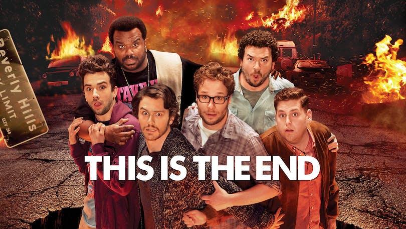 Stjärnspäckat i This is the End på HBO