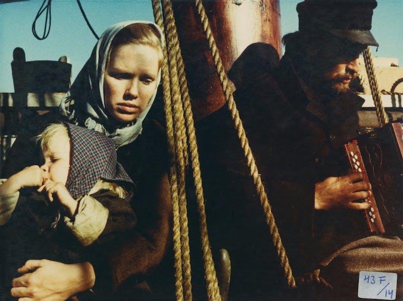 """Liv Ullman i """"Utvandrarna""""."""