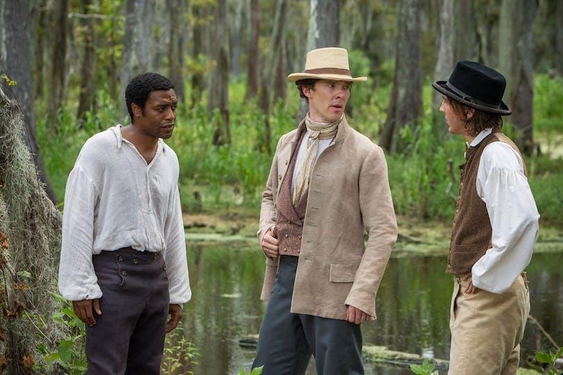 Benedict Cumberbatch i 12 Years a Slave.