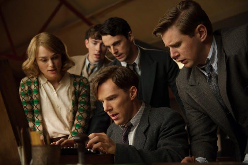 Benedict Cumberbatch som Alan Turing.