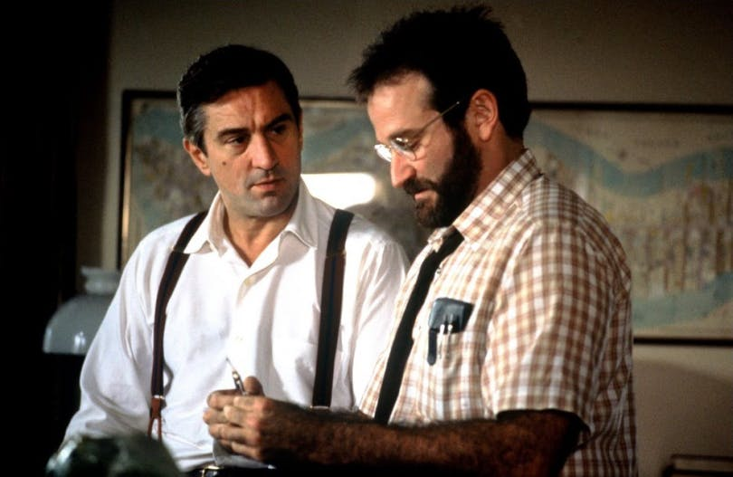 Robin Williams och Robert De Niro i Awakenings.