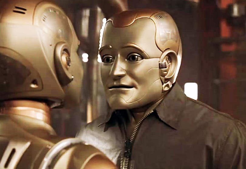 Robin Williams i Bicentennial Man.