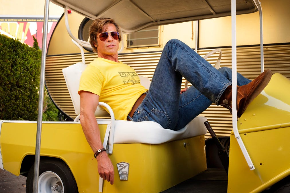 Brad Pitt i Once Upon a Time in Hollywood.