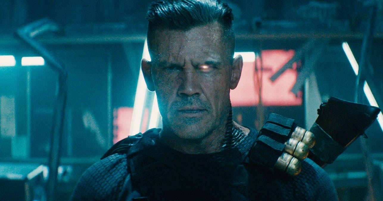 Josh Brolin som Cable i Deadpool 2.
