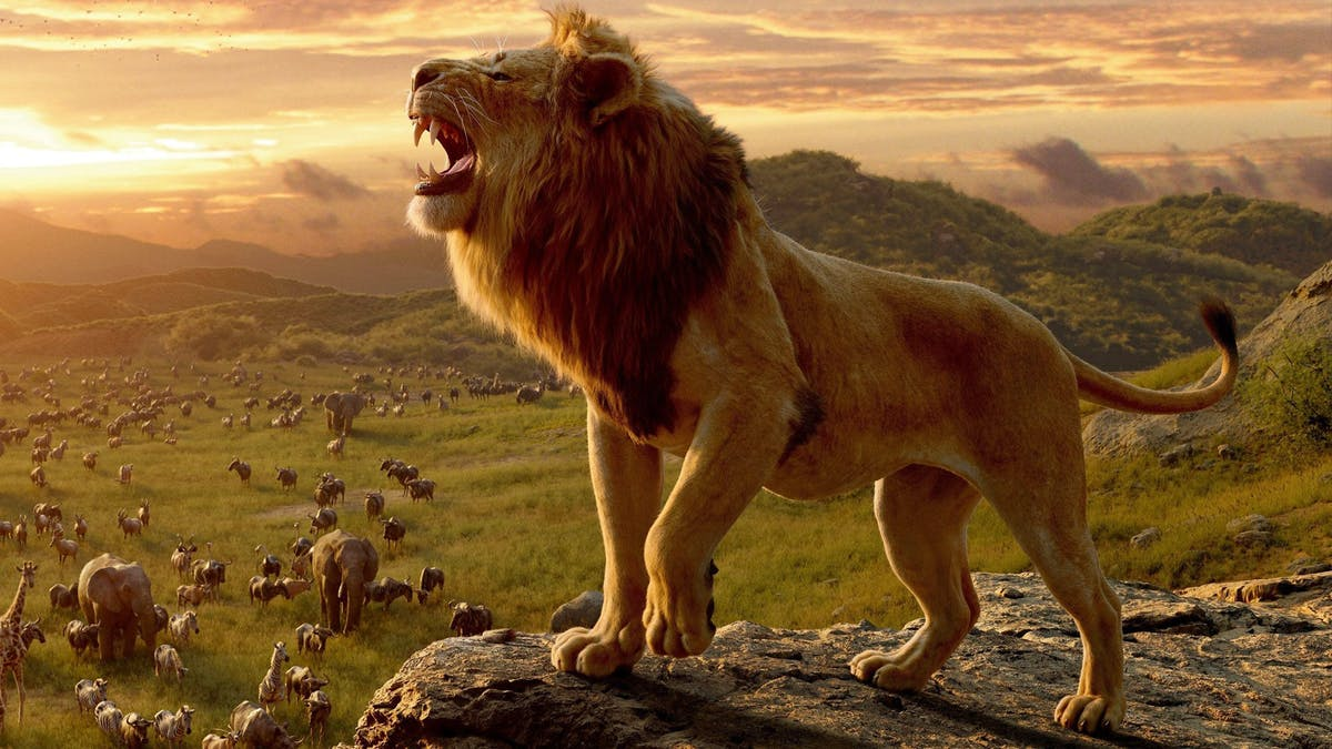 Lejonkungen ryter. Foto: Walt Disney Studios Motion Pictures.