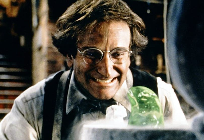 Robin Williams i Flubber.