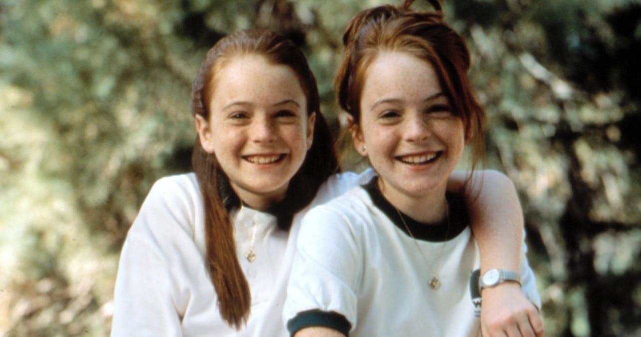 Lindsay Lohan i Föräldrafällan.