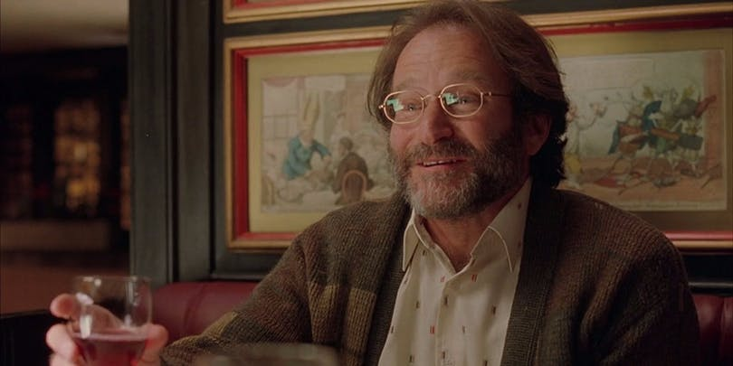 Robin Williams i Good Will Hunting.