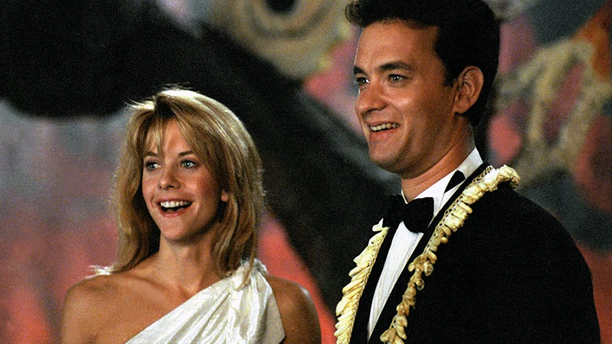 Meg Ryan och Tom Hanks i Joe Versus the Volcano.