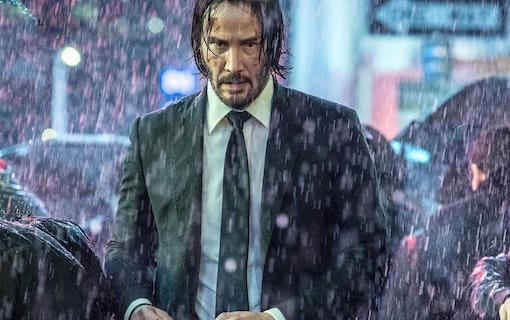 Keanu Reeves som John Wick.
