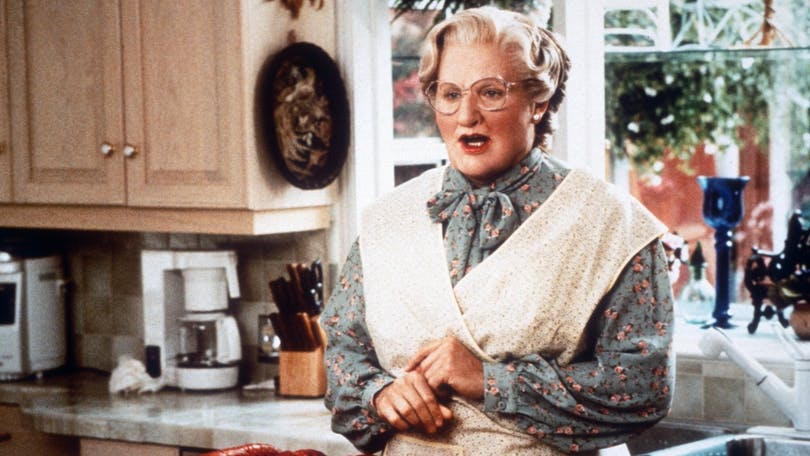 Robin Williams i Mrs. Doubtfire.
