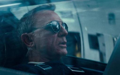 Daniel Craig som James Bond i No Time to Die.