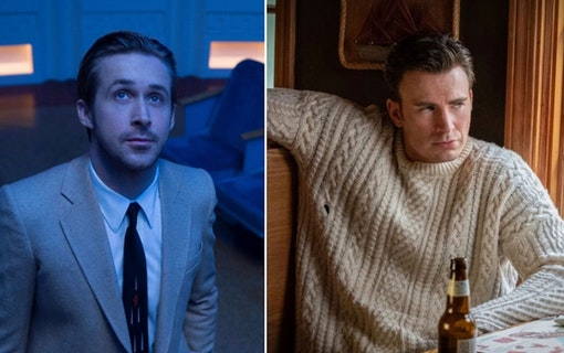 Ryan Gosling och Chris Evans.