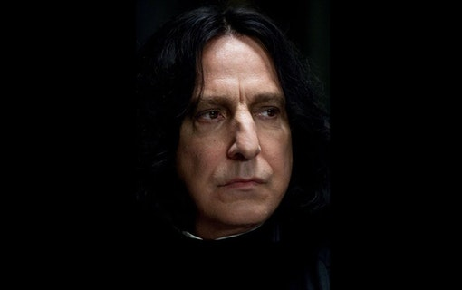 Severus Snape från Harry Potter.