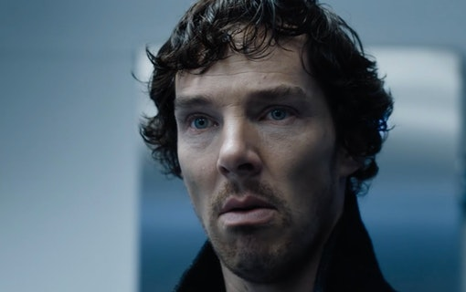 Benedict Cumberbatch som Sherlock Holmes.