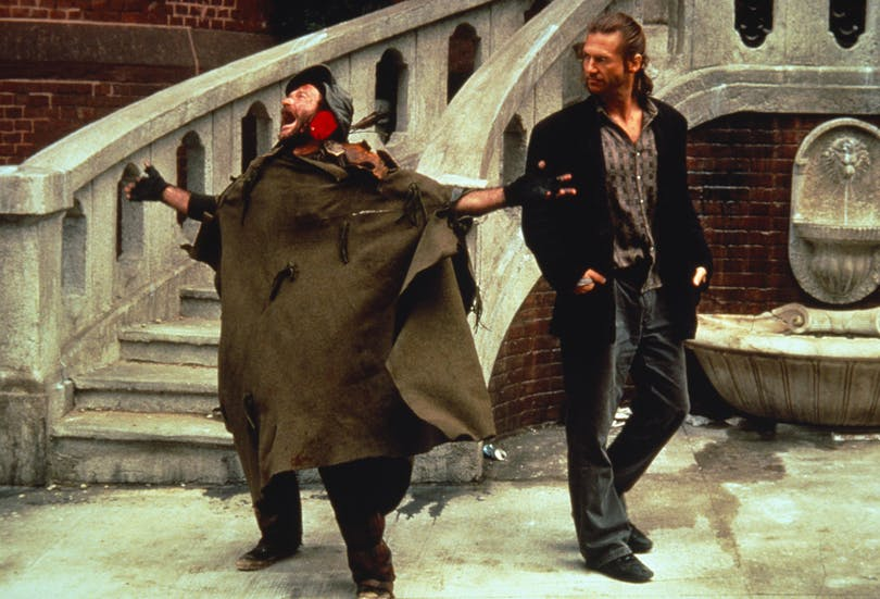 Robin Williams och Jeff Bridges i The Fisher King.