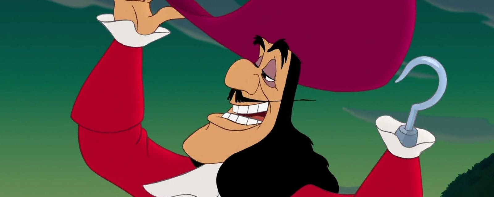 Jude Law som Kapen Krok i Disneys nya Peter Pan