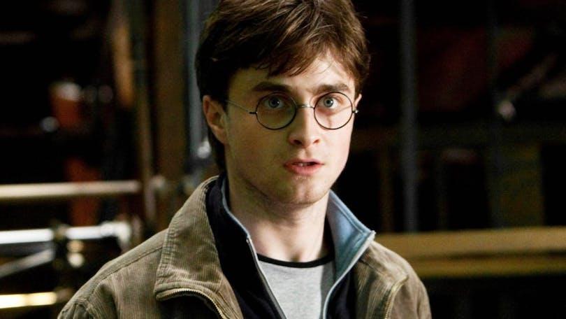 Daniel Radcliffe i Harry Potter.