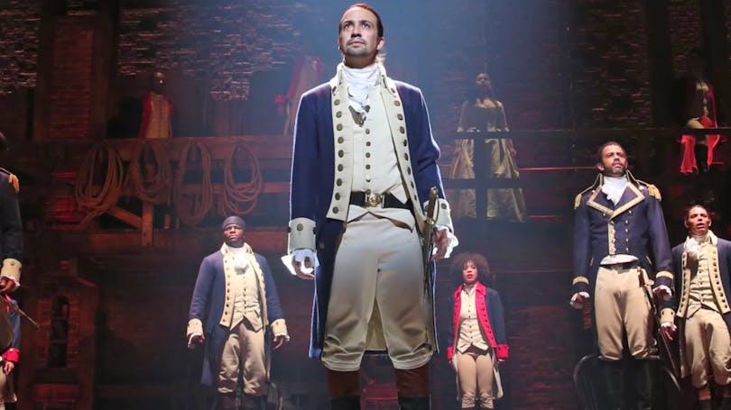 Hamilton på Disney+