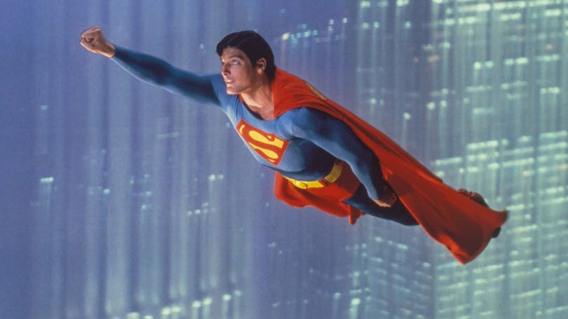 "Christopher Reeve i ""Superman - The Movie"" (1978)"