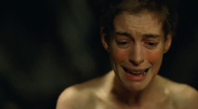 Anne Hathaway i Les Misérables. Foto: Universal Pictures.