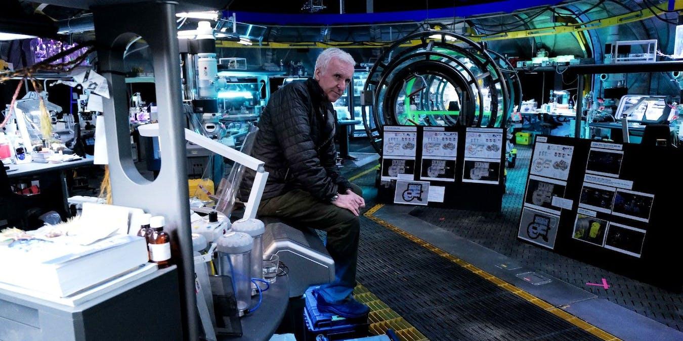 Se bild på labbet i Avatar 2
