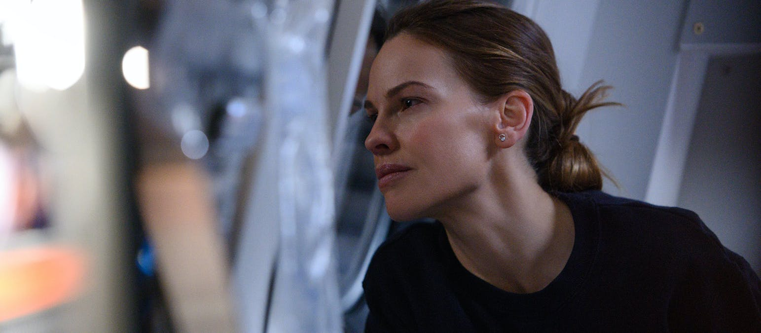 Intervju: Hilary Swank om Netflixserien Away
