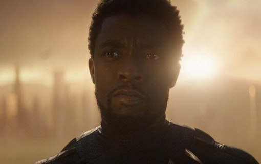 Chadwick Boseman som Black Panther.