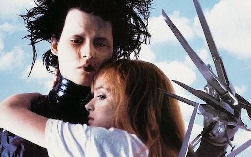 Edward Scissorhands Depp och Ryder