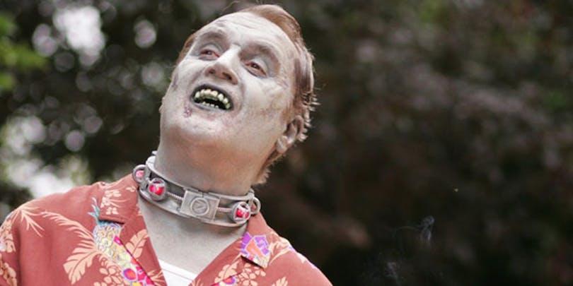 Zombien Fido spelad av Billy Connolly