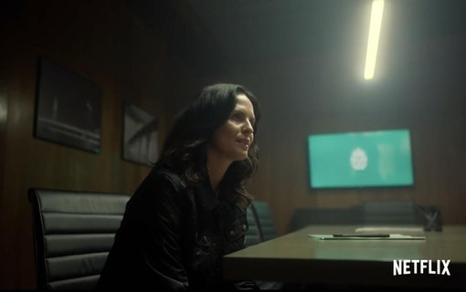 Bild på Leanne Best som Frida Rask i Netflixserien Young Wallander.