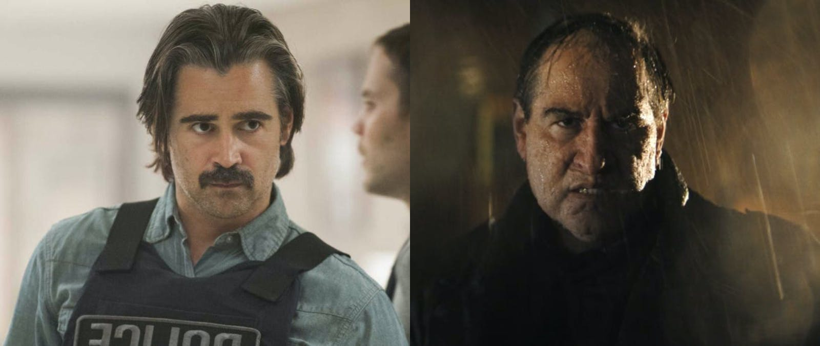 Känner du igen Colin Farrell som Pingvinen i Batman?