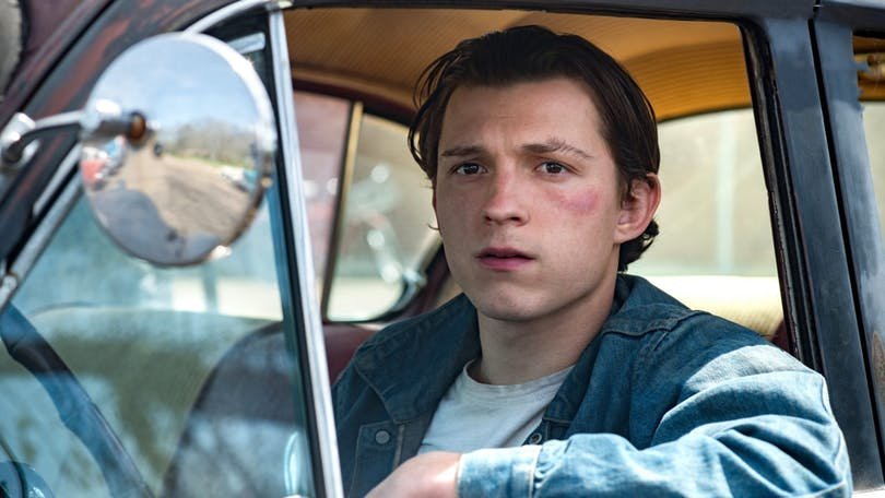 "Tom Holland i ""The Devil All The Time""."
