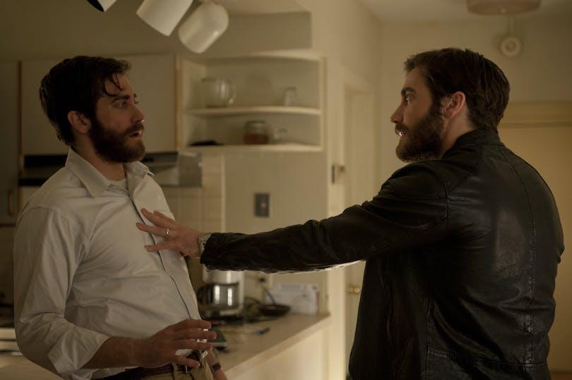 Jake Gyllenhaal möter sig själv i filmen Enemy