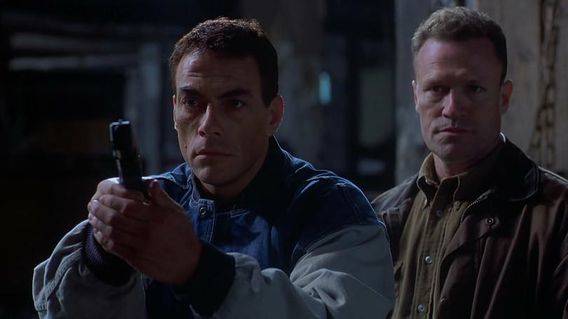 Jean-Claude Van Damme jagar en mördare i filmen Replicant