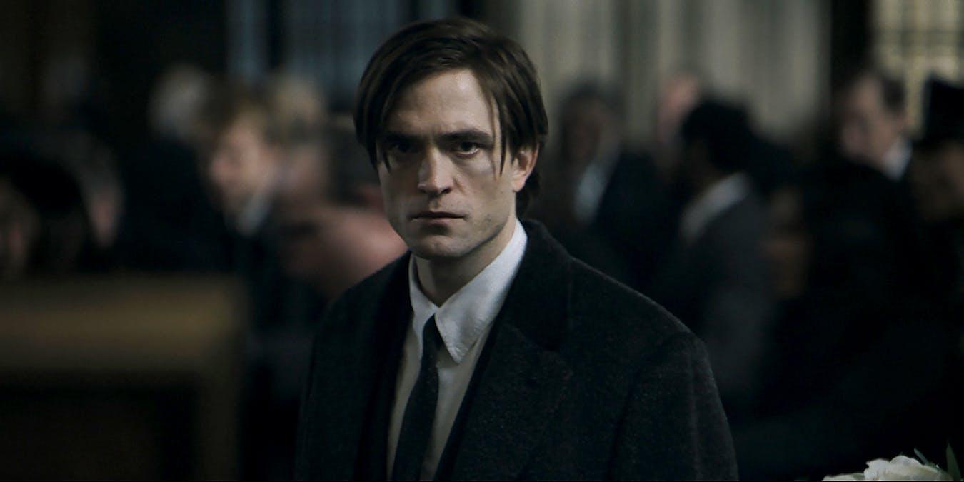 Robert Pattinson som Bruce Wayne