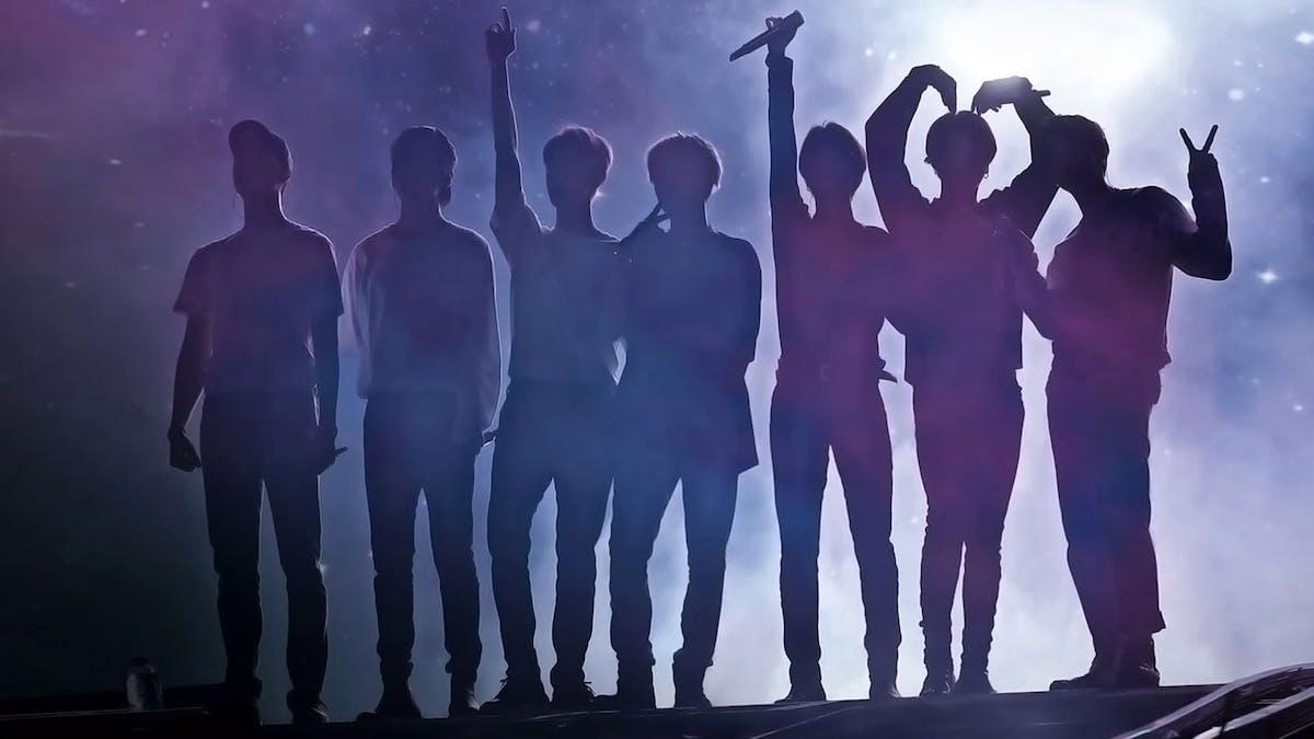 BTS siluett, break the silence film