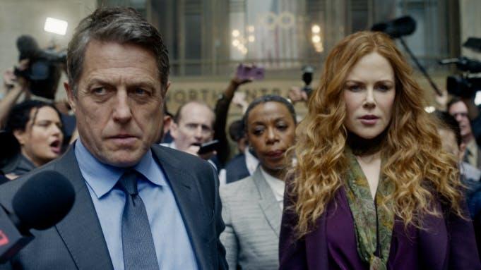 "Hugh Grant och Nicole Kidman i ""The Undoing""."
