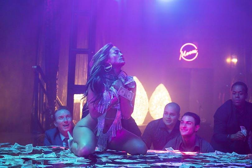 Jennifer Lopez i Hustlers på C More.