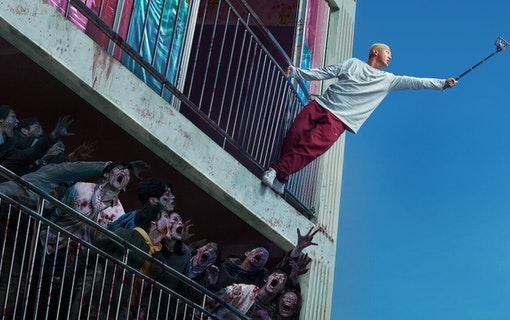 Panikstorm i Netflix nya zombiefilm