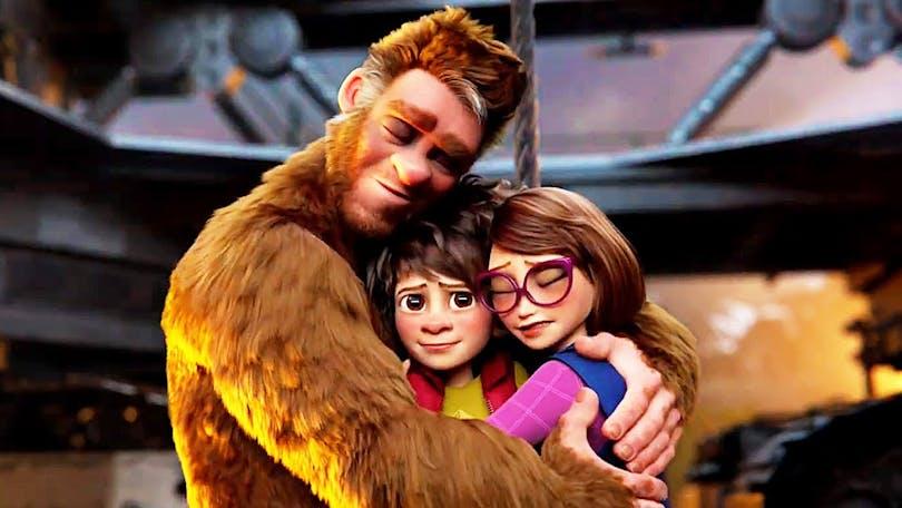 Familjen Bigfoot.