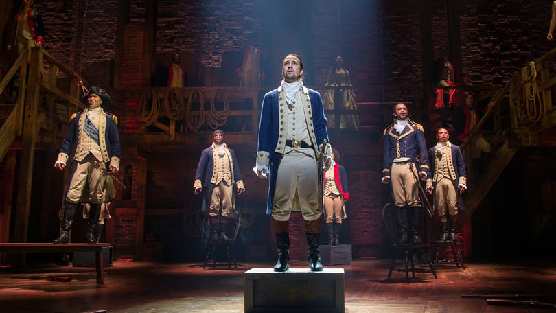 Flera skådespelare i musikalfilmen Hamilton